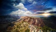 Grand Canyon National Park, Arizona, Day to Night 2015