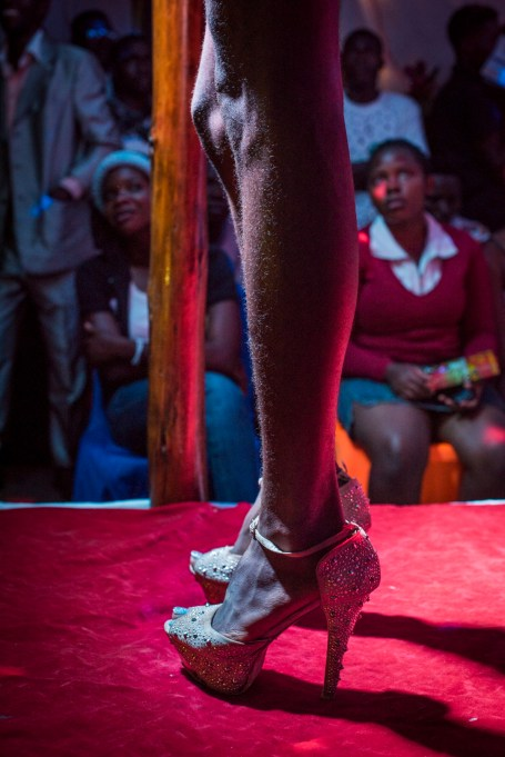 Contestants compete in the Mister and Miss Pride competition. Kampala, Uganda. August 7, 2015. © Diana Zeyneb Alhindawi