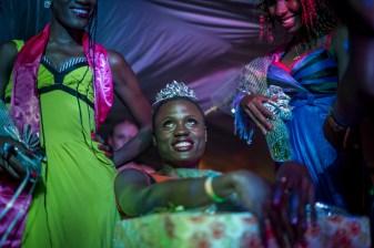 Miss Pride Uganda is announced and crowned. Kampala, Uganda. August 7, 2015. © Diana Zeyneb Alhindawi