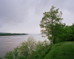 Along the Ohio River Scenic Byway. Across the river is Kentucky.