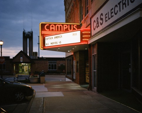 Marcus Campus Cinema, founded in 1935 by Ben Marcus as the first of many Marcus theatres, in historic downtown Ripon. Ceresco, the Wisconsin Phalanx, was founded in 1844 by followers of Charles Fourier, led by American pioneer Warren Chase. Ceresco prospered, and the NYTribune gave weekly news of its doings, considering it worthy of emulation. Wisconsin became a state in 1848: everywhere people were making money through land speculation and the planting of new industries but, here, community life allowed no man to rise. The members found themselves hampered by their bond and left in 1850.