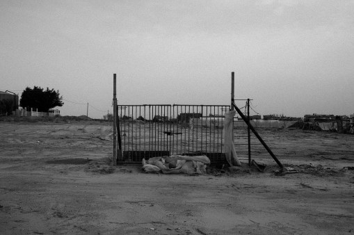 The only remaining of a farm is seen in Khan Younis, southern Gaza, on Nov. 2nd 2014.
