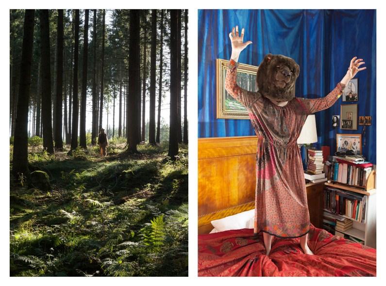 "3 - ""Bear Girl in forest & Bear Girl in bedroom"" - a5960149-b6ce-4774-bcf8-5fb5081c74a7"