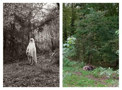 "6 - ""Girl with fur in woods & Sleeping bear"" - c08be5f2-9d19-4ea7-b8a9-904b34015611"