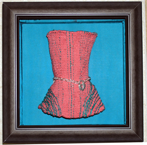 Altered Ego Series I: Corset, 6.25 in x 2.75 x 1 inch
