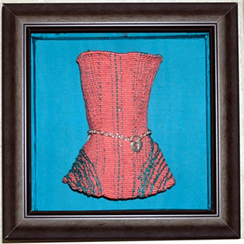 Altered Ego Series I: Corset, 6.25 in x 2.75 in