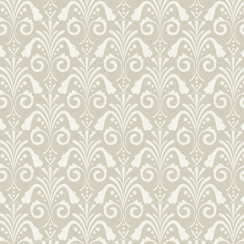 damask seamless pattern beige