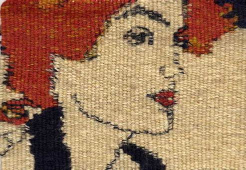 "Homage to Egon Schiele I 5.5"" x 7.5"""