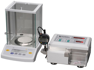 Tablet hardness tester with weight and thickness