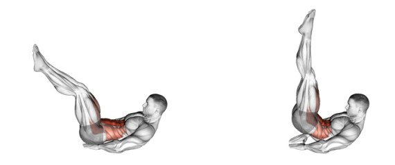 Image result for Reverse hip crunch thrusts