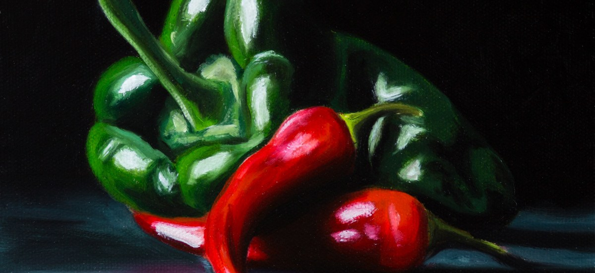 Another Pepper Painting