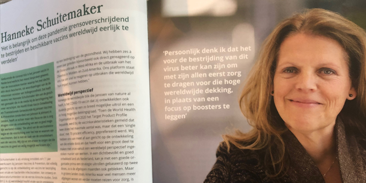 Hanneke Schuitemaker interview in HuisartsenService