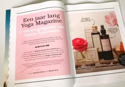 Productfotografie voor Yoga Magazine