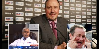 Doctors Worried For Rafa Benitez's Mental Health, As He Considers Newcastle Offer.