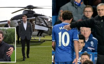 Helicopter Spotted At Juan Mata's House As Tearful Herrera Waves Him Off
