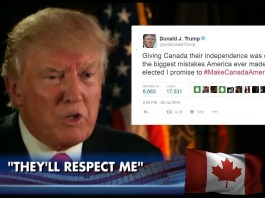 Trump Claims America Should Never Have Given Canada Its Independence | Trump Canada Independence