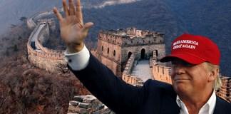 Trump Great Wall Of China