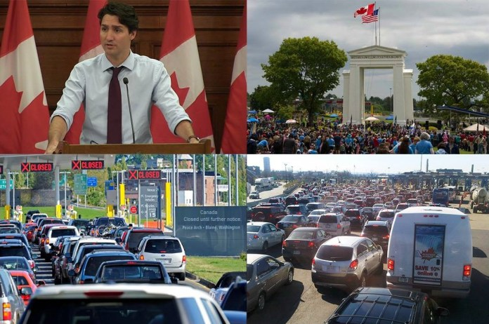 Canada Declares State Of Emergency As Millions Of Americans Attempt Border Crossing