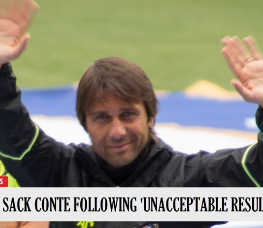 "Antonio Conte Sacked By Chelsea Following ""Unacceptable Result'"