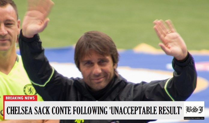 Antonio Conte Sacked By Chelsea Following