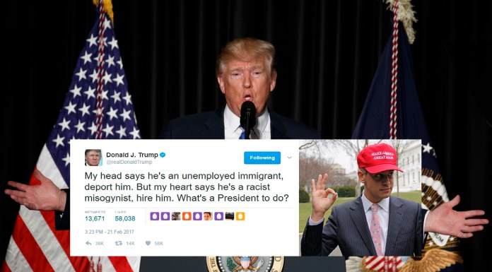Trump Admits He Can't Decide Whether To Deport Milo Yiannopoulos Or Employ Him