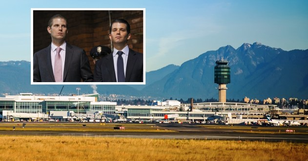 Full story: Trump Sons Detained At Vancouver Airport Due To Alleged Ties With Fascist Dictator   Trump Canada Independence