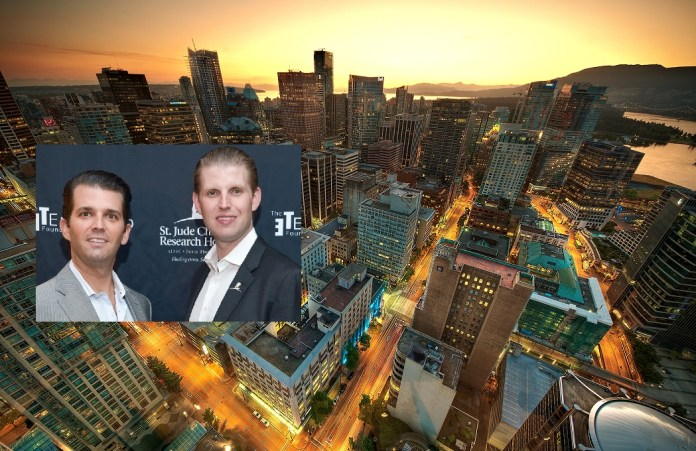 How Donald Trump's Sons Spent 24 Hours In Vancouver