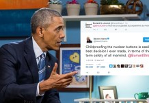 Obama Cites 'Childproofing Nuclear Buttons' As His 'Finest Moment' As President