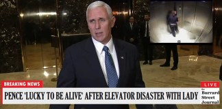 Mike Pence Hospitalized After Becoming Trapped In Elevator With Female | Mike Pence elevator