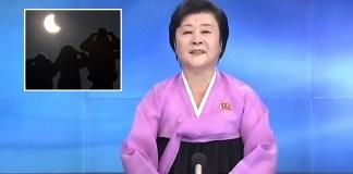 North Korea 'sun blocking test' success.