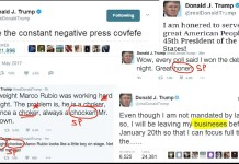 Trump Denounces Grammar Nazis