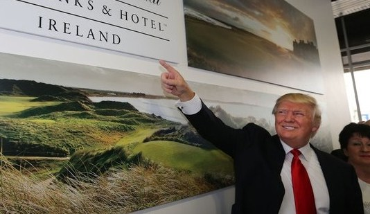 Trump Ireland visit coming soon...