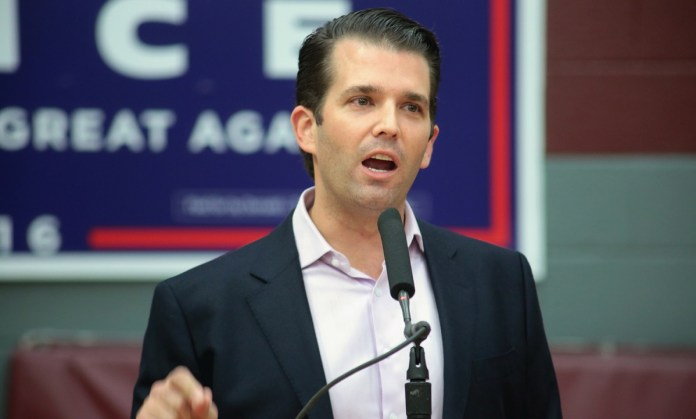 Donald Trump Jr. Denies Any Ties To White House