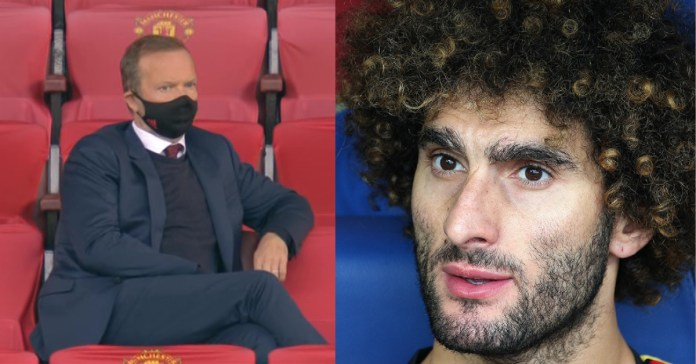 Man Utd Make Last-Minute Bid To Re-Sign Marouane Fellaini