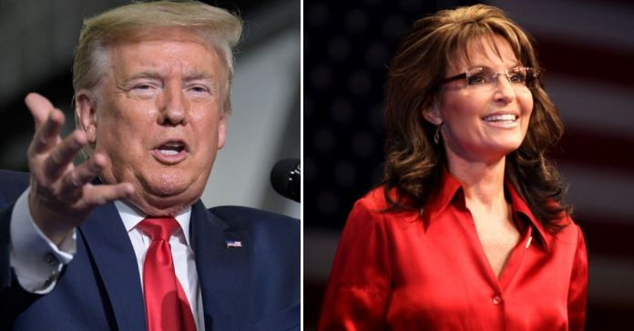 Donald Trump Encourages 'All Canadians' To Elect Sarah Palin