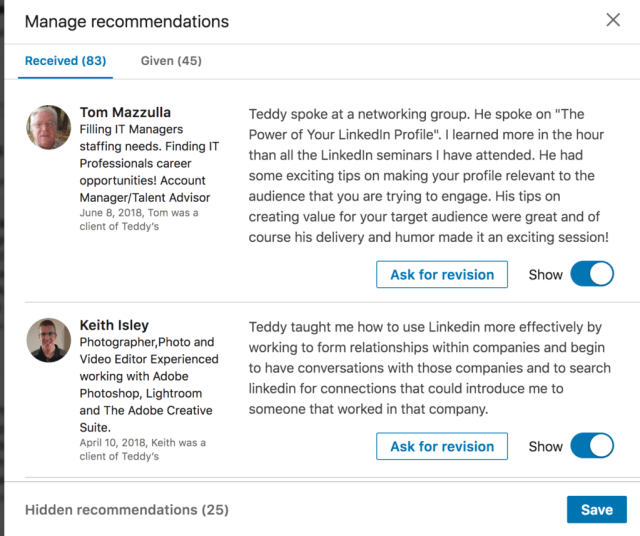 How to Write a LinkedIn Recommendation for a Colleague