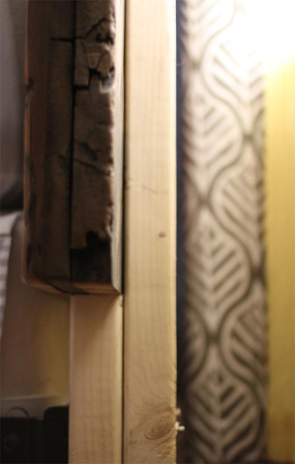 DIY Barn Door Headboard | Burritos and Bubbly