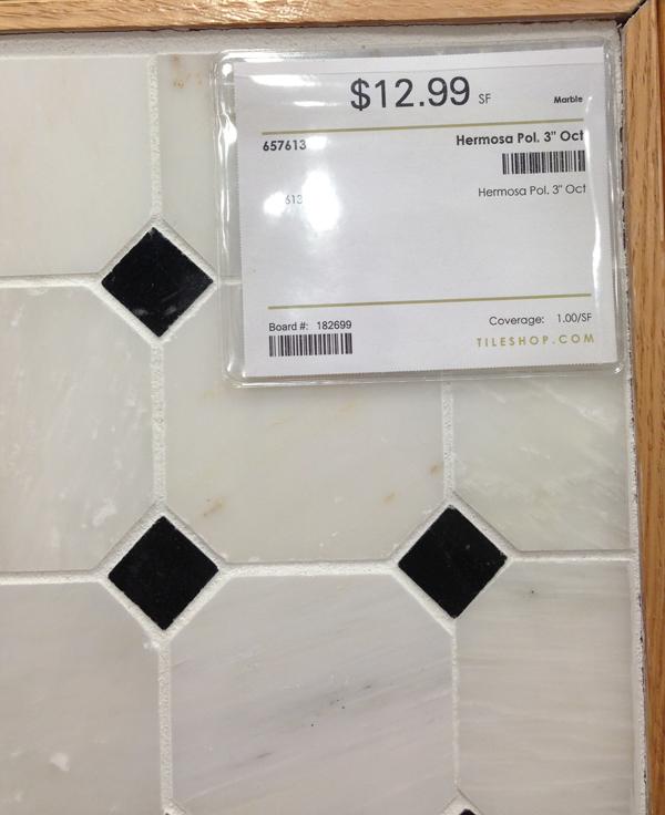 bathroom floor tile | burritos and bubbly