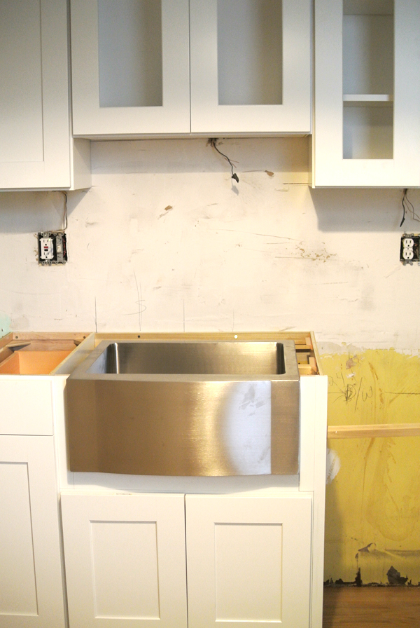 kitchen cabinets installed   burritos & bubbly