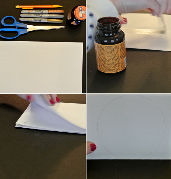 DIY paper coasters how to from Burritos & Bubbly