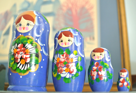 matryoshka dolls | Burritos & Bubbly