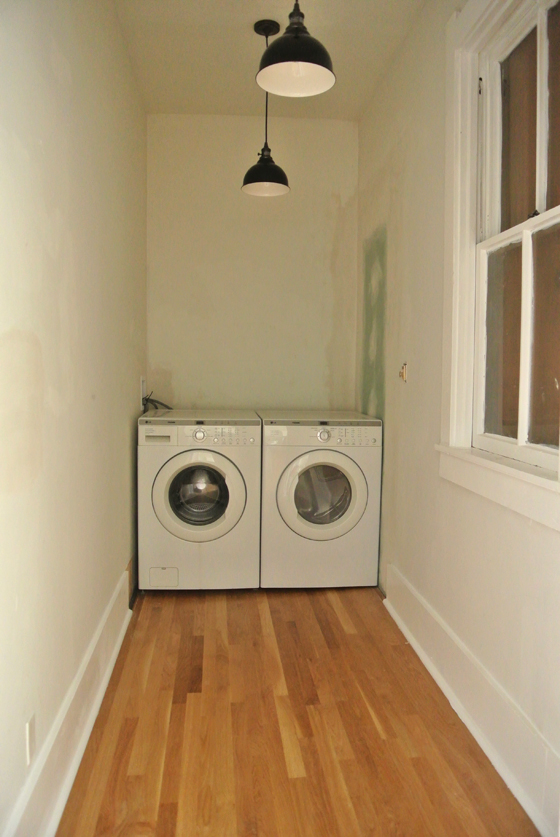 laundry room/pantry in progress