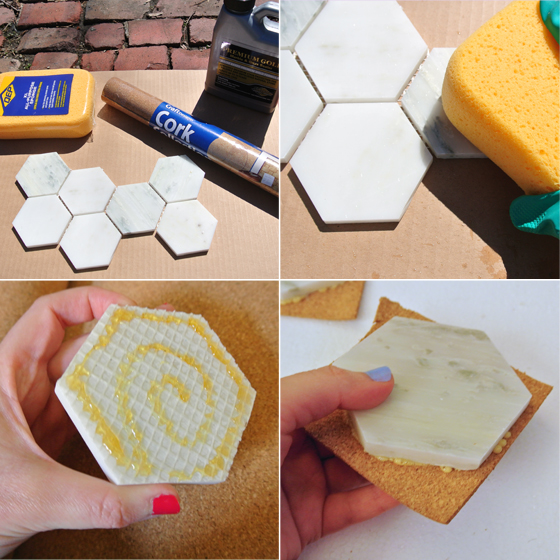 marble coaster DIY from BurritosandBubbly.com