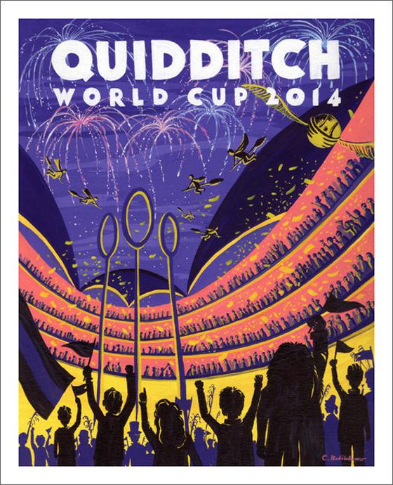 Quidditch World Cup by Caroline HP Art
