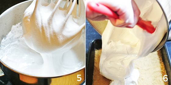 how to make s'more-flavored marshmallows, from Burritos and Bubbly