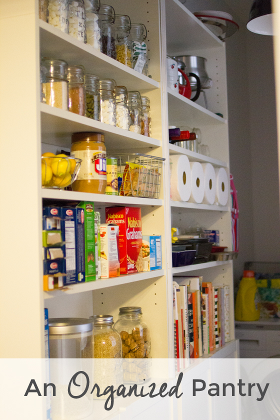 pantry organization | Burritos and Bubbly