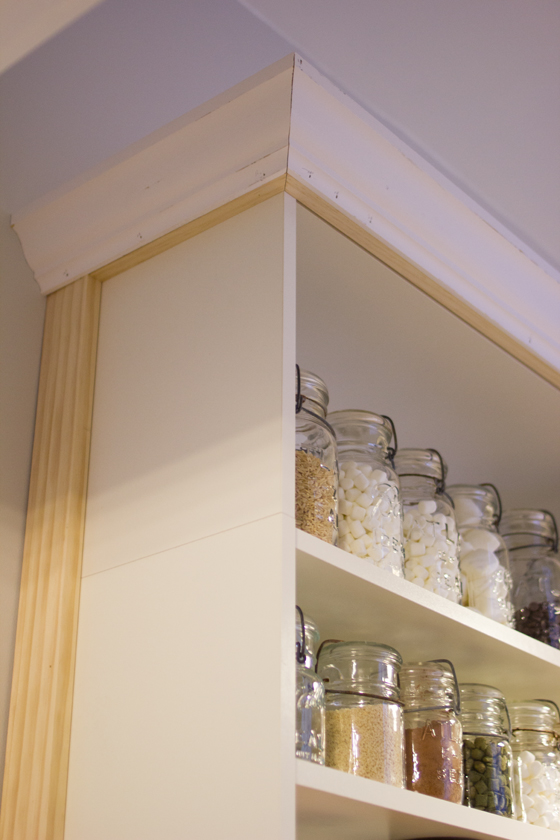 Billy built-in pantry, part two