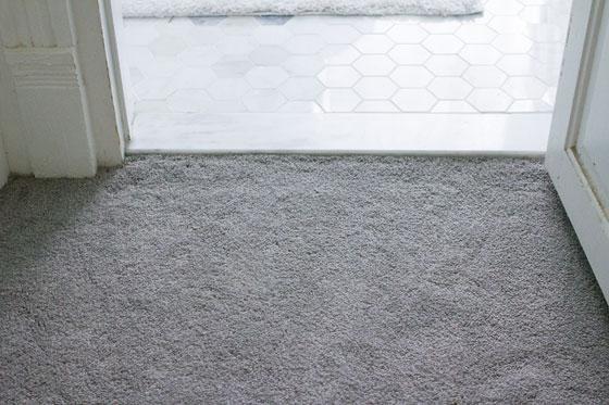 carpet after