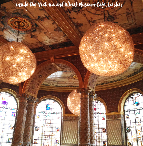 London Travel Guide: Victoria and Albert Museum Cafe