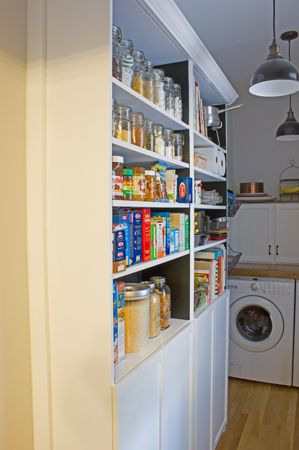 built-in pantry Ikea hack